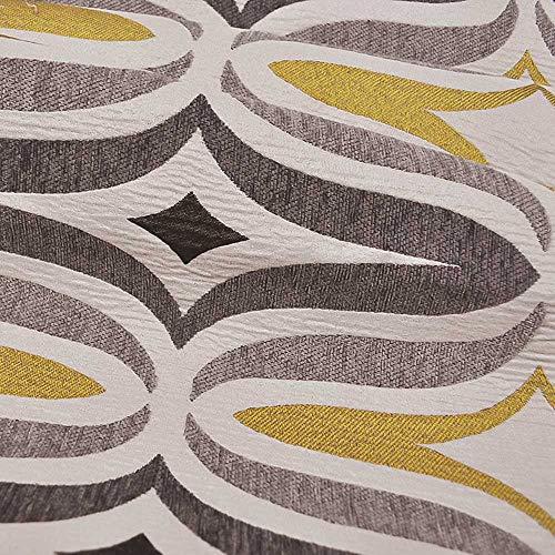 eLuxurySupply Fabric by The Yard - 100% Polyester Upholstery Sewing Fabrics - Barton Chinchilla Pattern - Sample Swatch