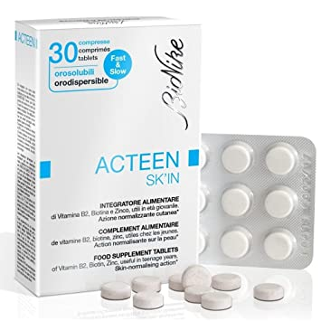 BioNike ACTeen SkIn Food Supplement 30 Tablets