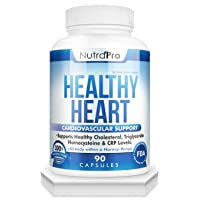 Healthy Heart - Heart Health Supplements. Artery Cleanse & Protect. Supports Cholesterol...