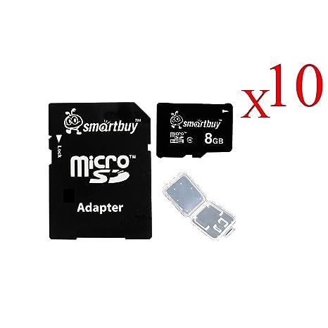 Amazon.com: Smart comprar Micro SDHC Class 4 Tarjeta de ...