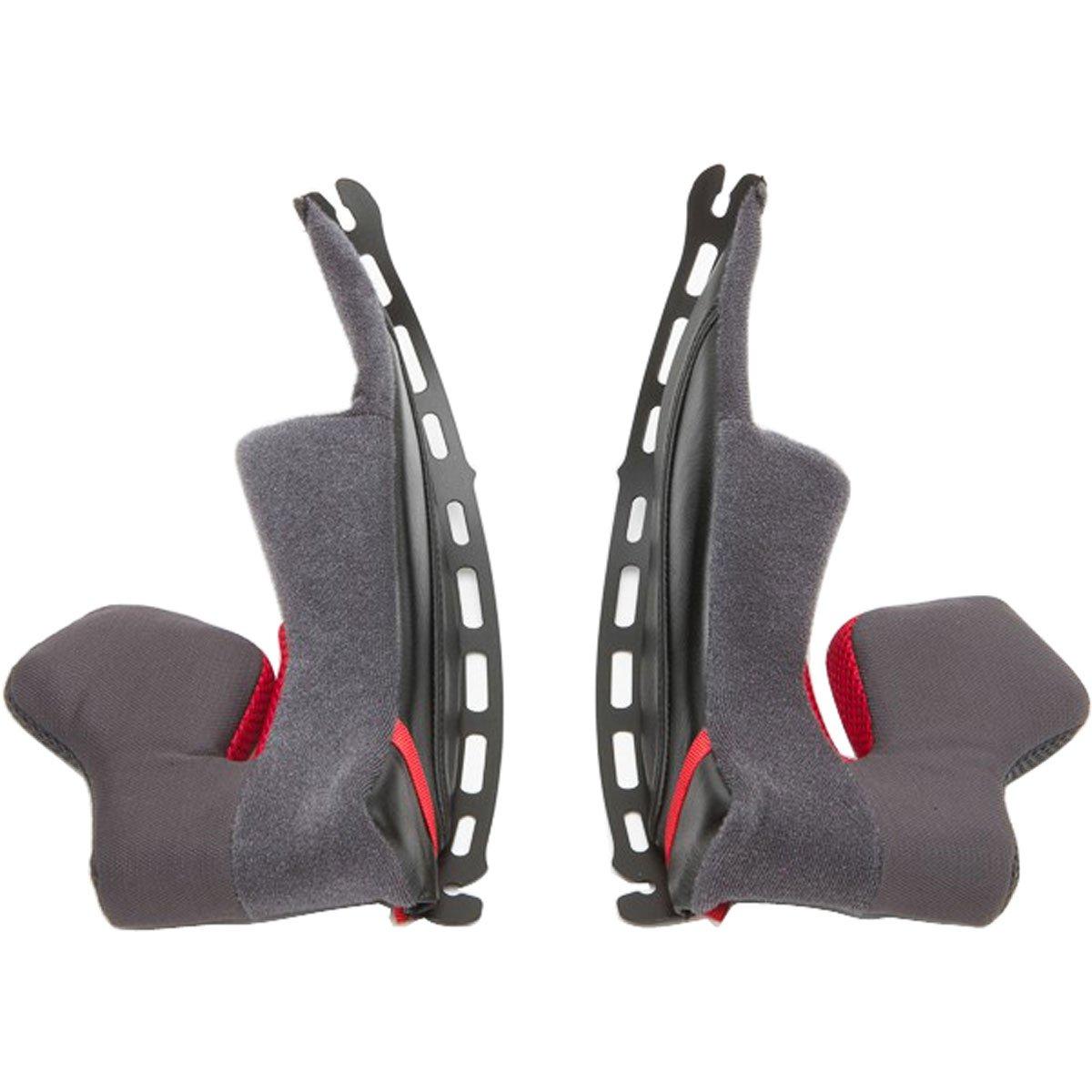 Shoei X-Fourteen Cheek Pad Set 35mm Street Motorcycle Helmet Accessories - Black/One Size