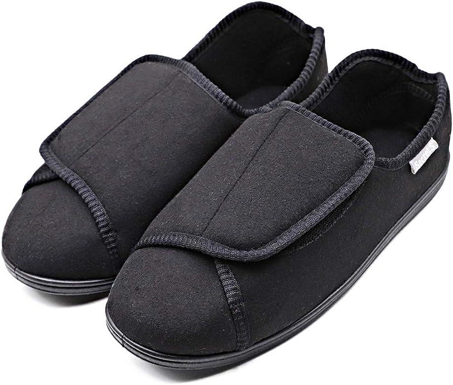 Mens Diabetic Shoes Edema Slippers