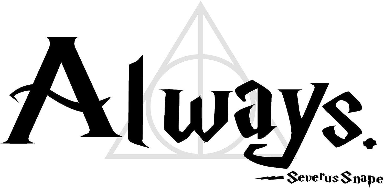 Amazon Quote It Severus Snape Always With Deathly Hallows
