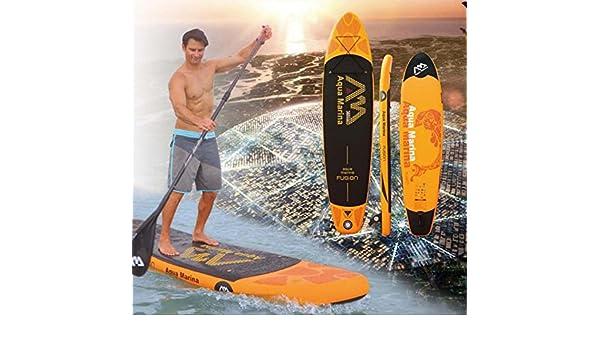 Aqua marina 11 pies 15 cm Grosor Fusion hinchable SUP Board Stand ...