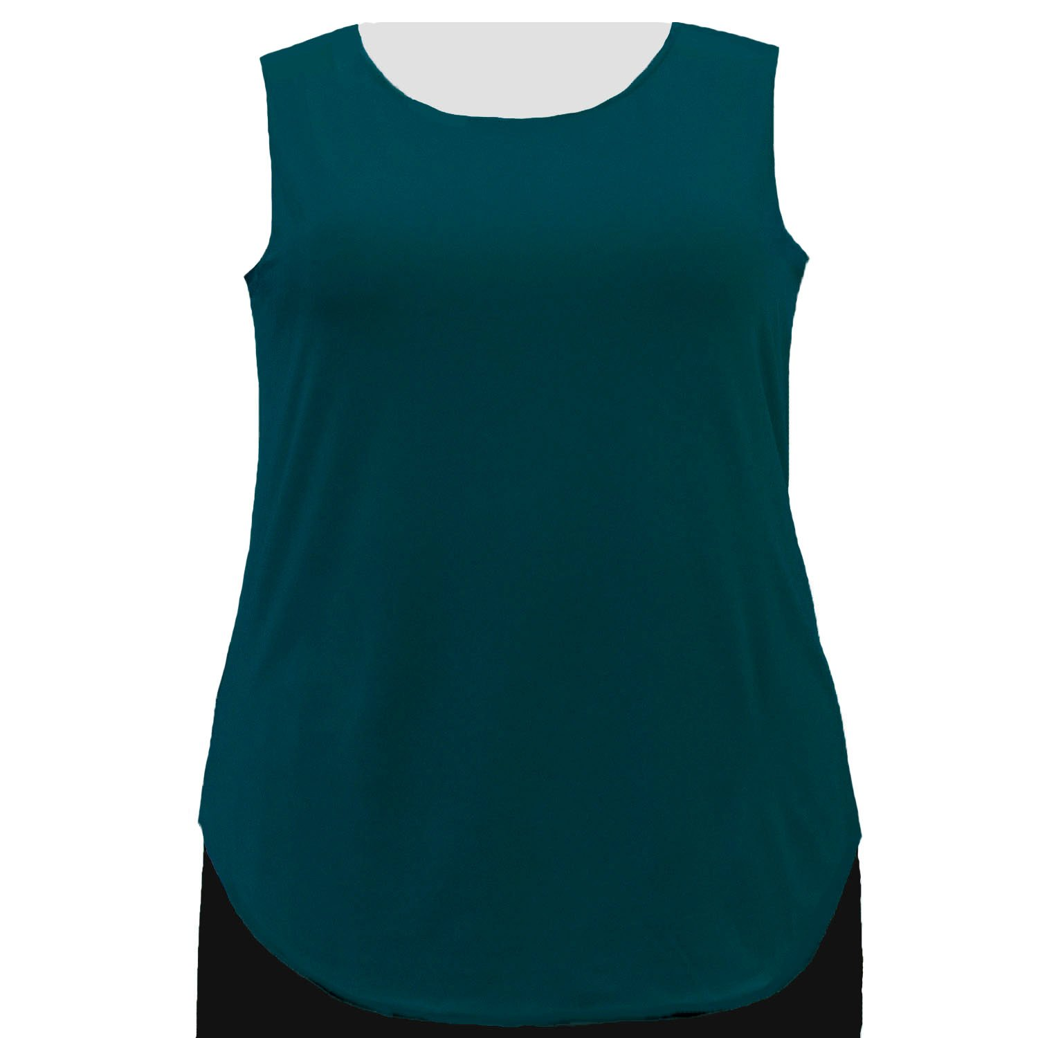 A Personal Touch Women's Plus Size Alpine Green Tank Top