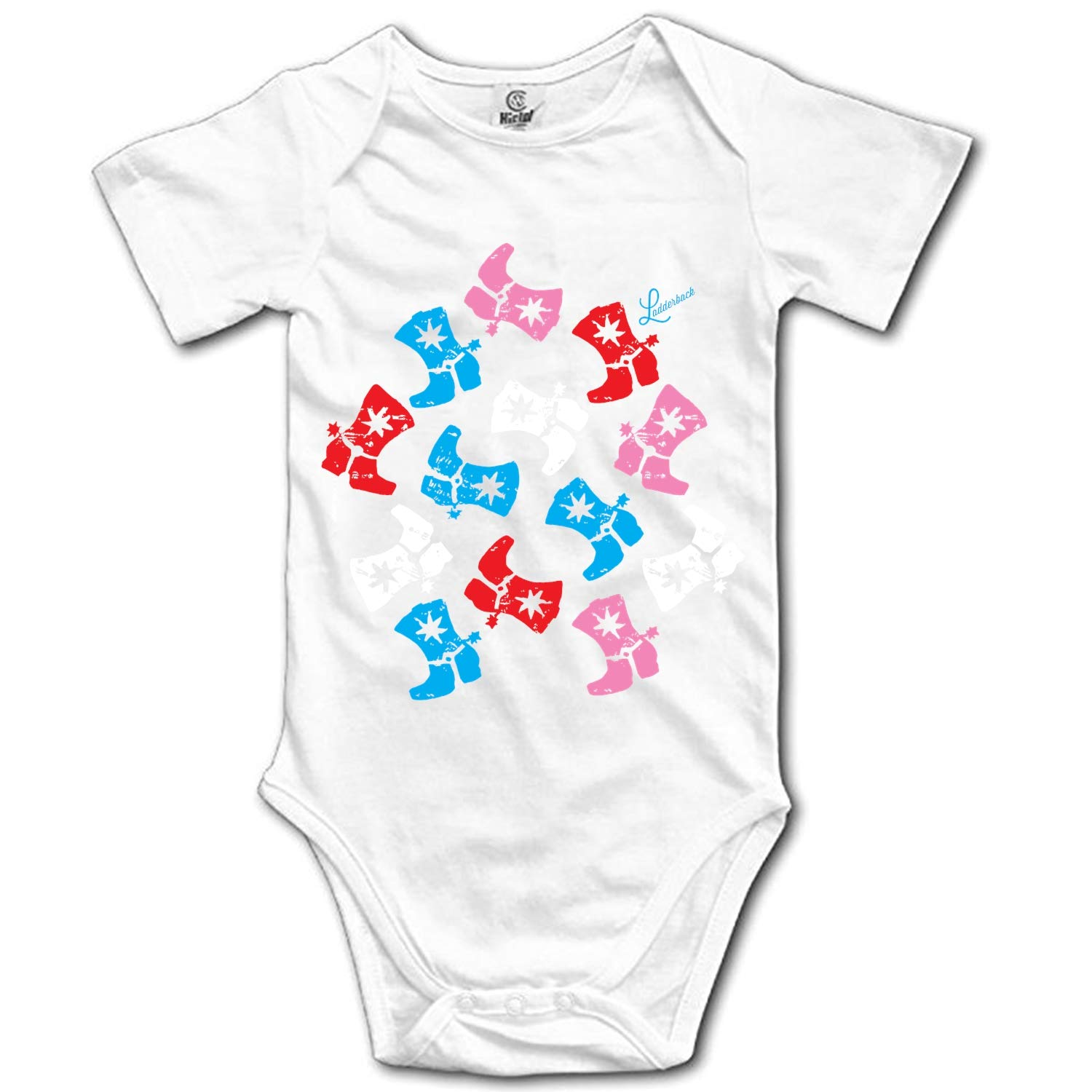 YPZOOS Prince Cowgirl Rager Baby Bodysuit One Piece