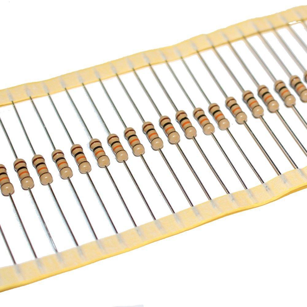 1//4W Metallfilm Widerstand Widerstände 100 Stück 180-OHM 0,25W 180R