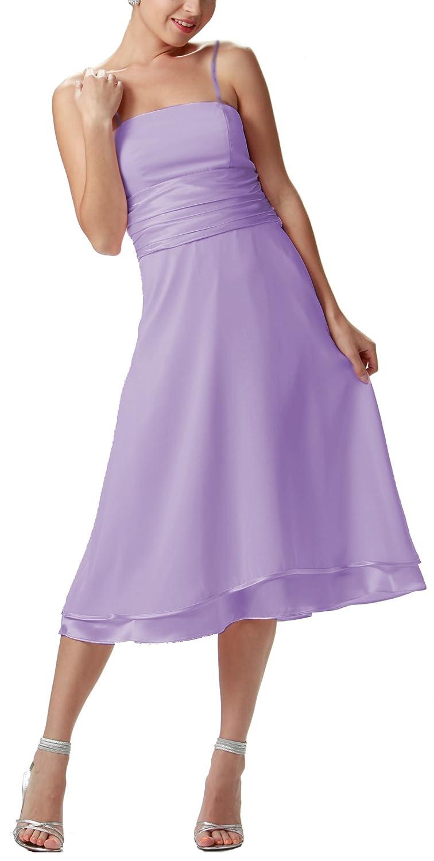 Nachtigall+Lerche Abendkleid kurz Abschlussballkleid Knielang Brautjungfernkleid schlicht Cocktailkleid Abiballkleid Hochzeitsgast