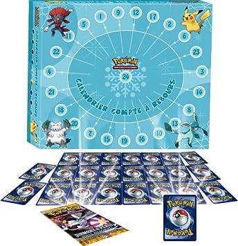 Asmodée   CAL01   Calendrier de L'avent Pokemon: Amazon.fr: Jeux