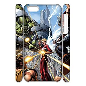 J-LV-F Customized 3D case Avengers Marvel for iPhone 5C