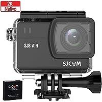 SJCAM SJ8 AIR Wi, Fi 4K Aksiyon Kamera, Siyah