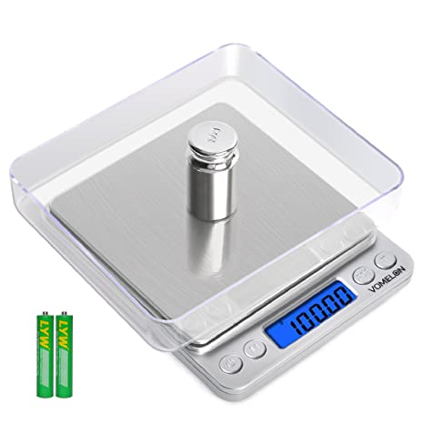 Scale Calibration Weights >> Digital Kitchen Scale 500g X 0 01g 100g Calibration Weights Multifunction Gold Scale For Lab Cooking Stainless Steel Pocket Food Scale With Trays