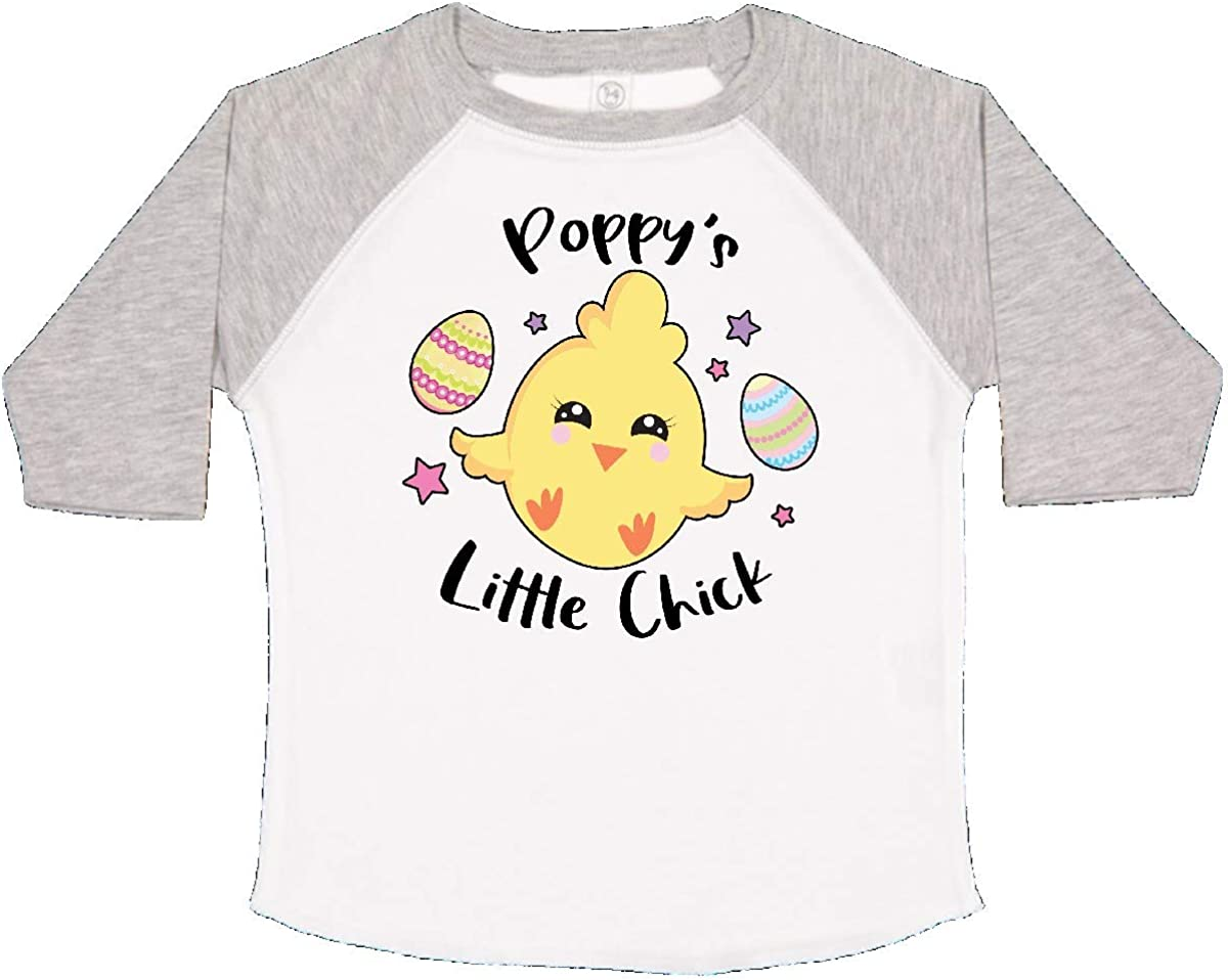 inktastic Happy Easter Poppys Little Chick Toddler T-Shirt