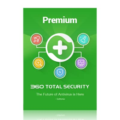 360 Total Security Premium | 1 PC | 2 Year [Online Code]
