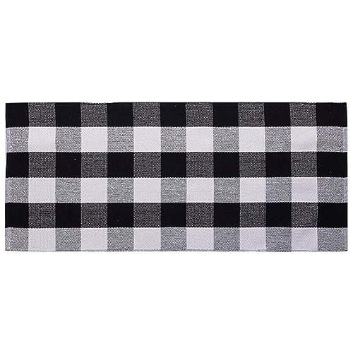 Black And White Checkered Rug: Black And White Rugs: Amazon.com