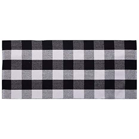 Plaid Door Mat
