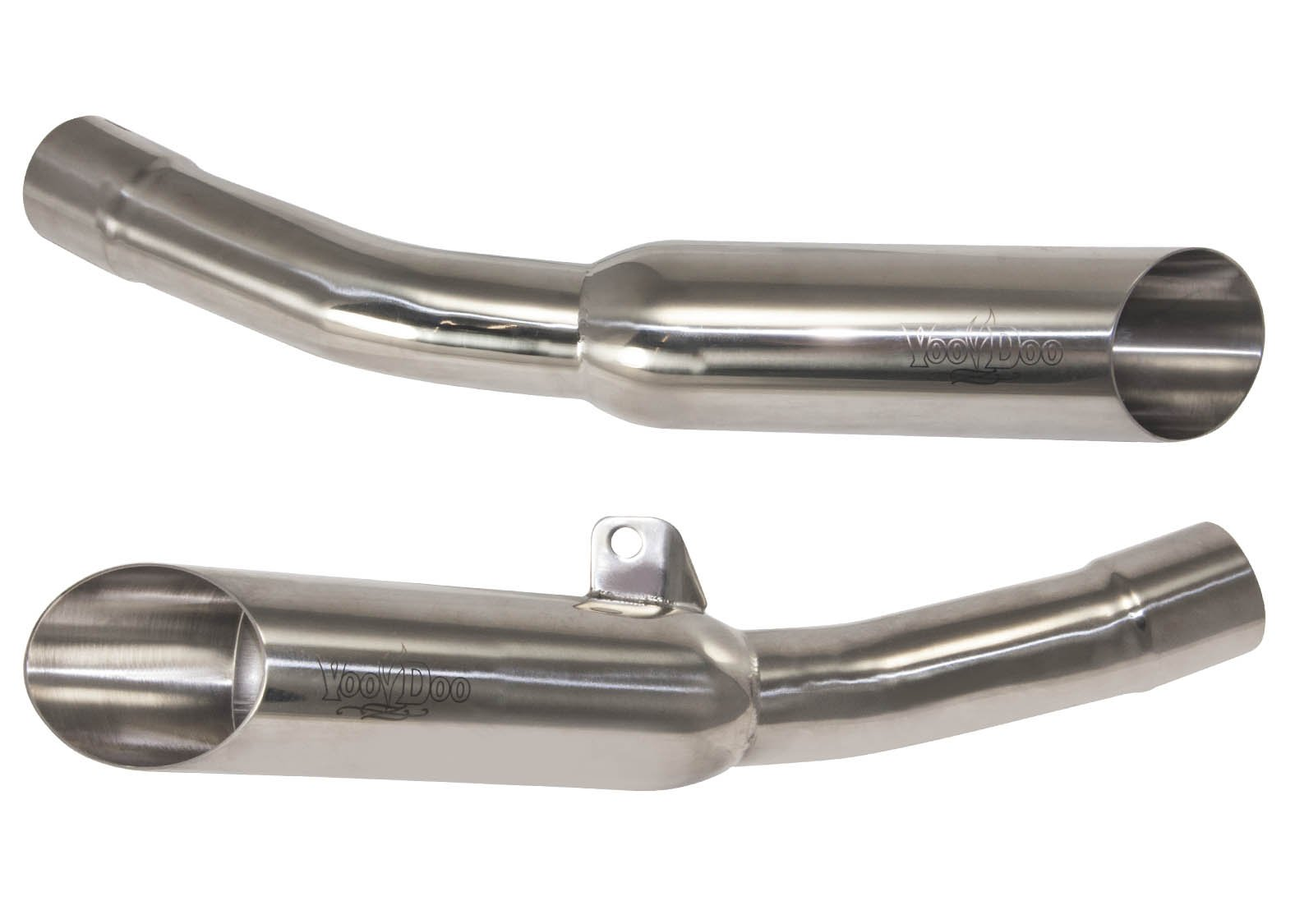 VooDoo Industries VEZX14K6P Polished Dual Exhaust for Kawasaki ZX-14 R