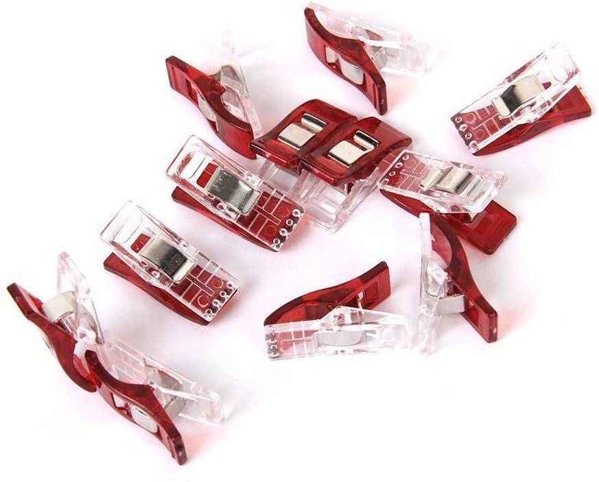 erthome Contenants de Quilter en Plastique Pinces /à Coudre Wonderclip Couture Quilt Craft Connecter Le Paquet de Rangement de Cuisine Facile