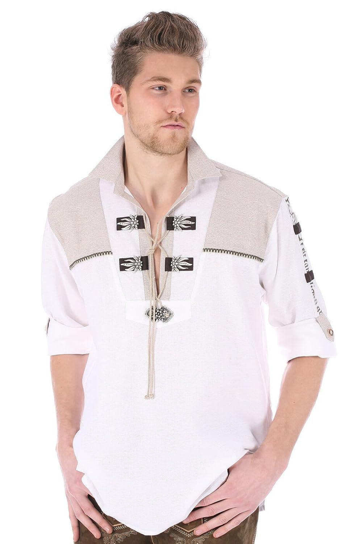Orbis Trachtenhemd 720066-1011-01 weiss