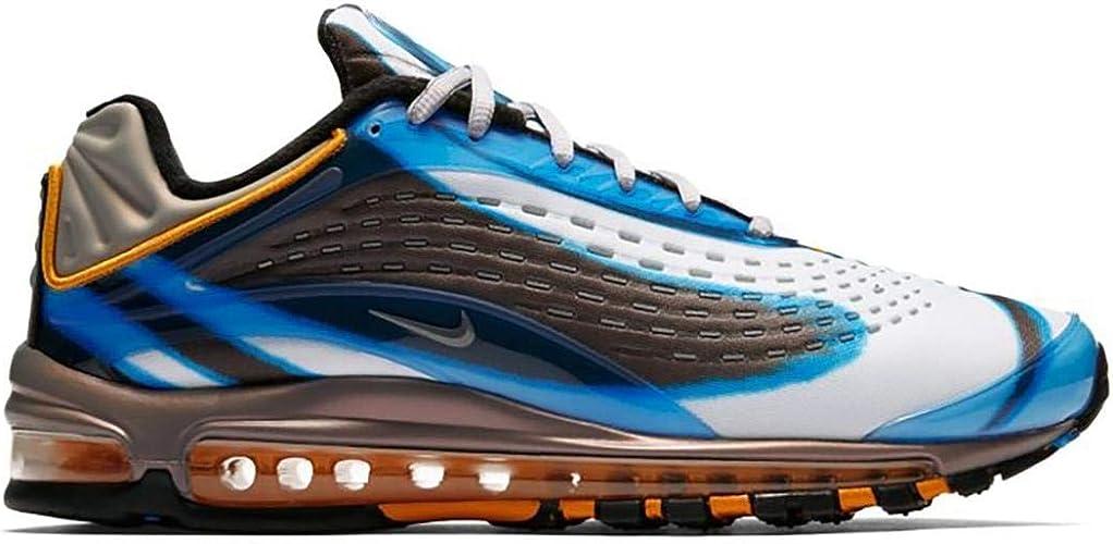 Zapatillas NIKE Air MAX Deluxe Azul/Gris Hombre: Amazon.es: Zapatos y complementos