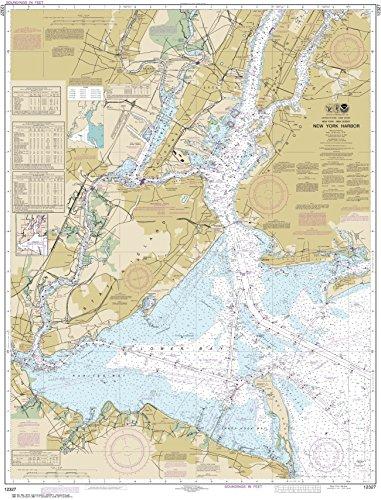 NOAA Chart 12327 New York Harbor: 45.54