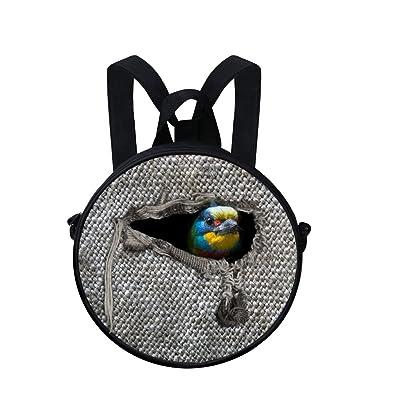 3D Printing Preschool Backpack Toddler Messenger Bag(2-6 Years)