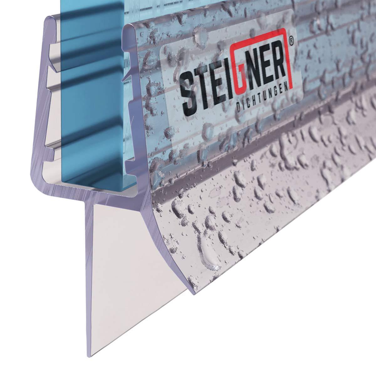 STEIGNER 150cm Joint d/étanch/éit/é de remplacement pour les vitres d/'une /épaisseur 5// 6mm UK33-06