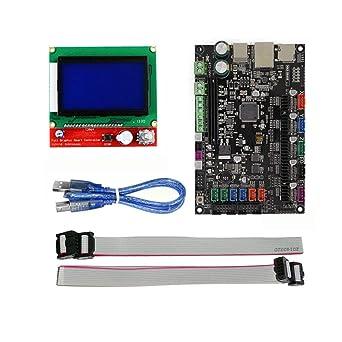 Amazon com: 3D Printer Parts 32-bit Platform Control Board MKS V1 3