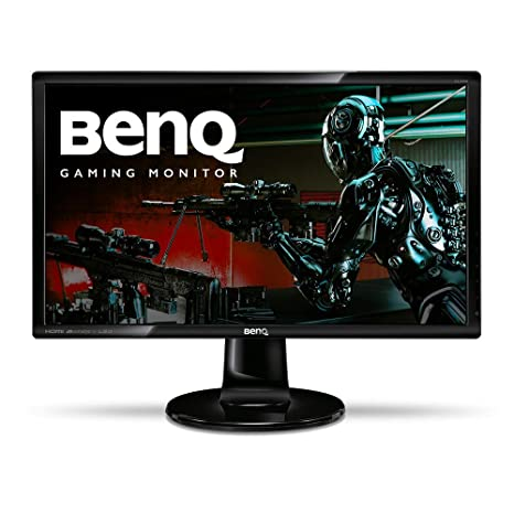 BenQ GL2460HM 24 Inch 1080p Gaming Monitor, HDMI, DVI, Built-In Speakers,  Eye Care Technology, Low Blue Light, ZeroFlicker, Energy Star Certified