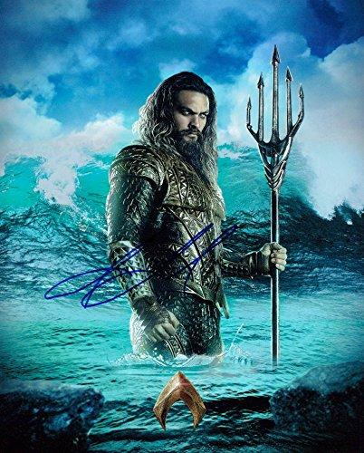 Jason Momoa (Aquaman) signed 8x10 photo