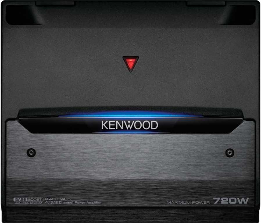 Kenwood Kac 8405 4 Kanal Endstufe Schwarz Elektronik