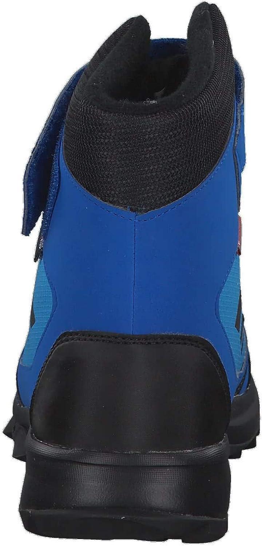adidas Terrex Snow CF CP CW K, Bottes de Neige Mixte Enfant Bleu Azubri Negbás Naalre 000