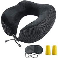 Bloodyrippa Ergonomic Travel Neck Pillow, Memory Foam Neck Support, Adjustable Tightness, Ideal for Flights, Driving…