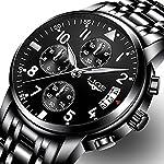 Men Business Watch Chronograph Clock Brand Luxury Fashion Casual Sport Waterproof Quartz Wrist watch