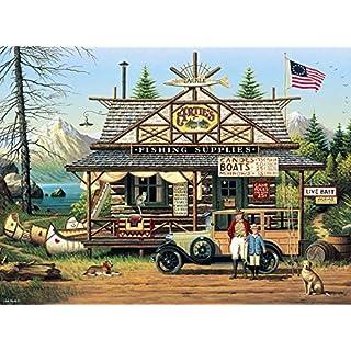Buffalo Games - Charles Wysocki - Proud Lil' Angler - 1000 Piece Jigsaw Puzzle