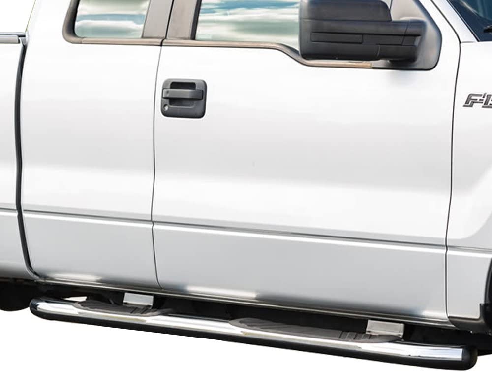 Running Boards Compatible With 2004-2014 Ford F150 Extended Cab ...