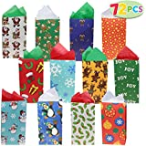 Joiedomi 72 pack of Holiday Goody Bags