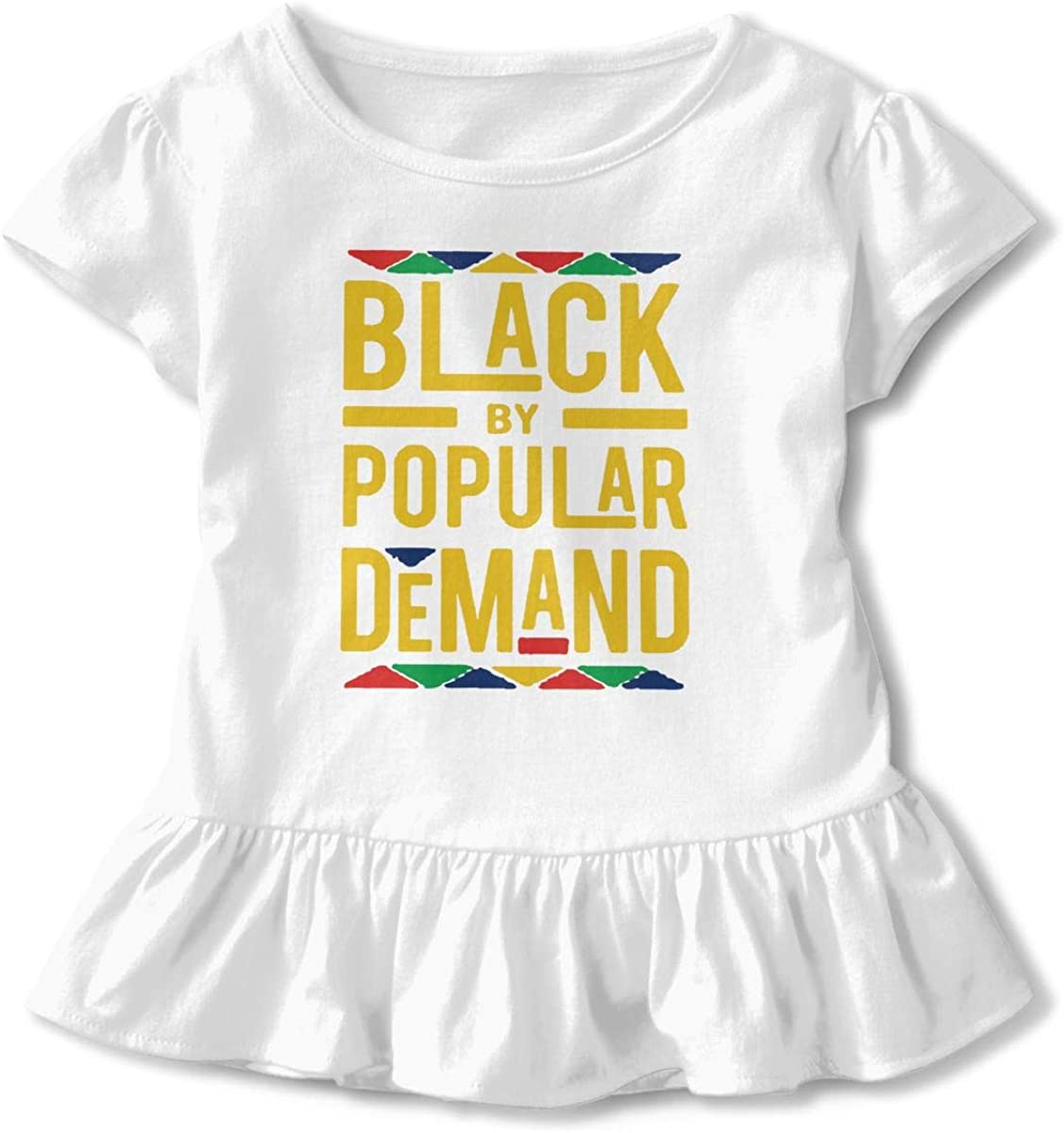 Black by Popular Demand Baby Skirts Stylish Kids T Shirt Dress Comfortable Flounces Outfits