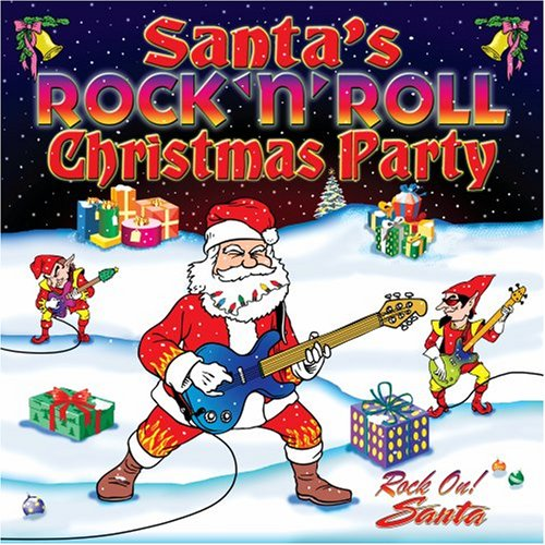 various artists santas rock n roll christmas party amazoncom music - Rock Christmas