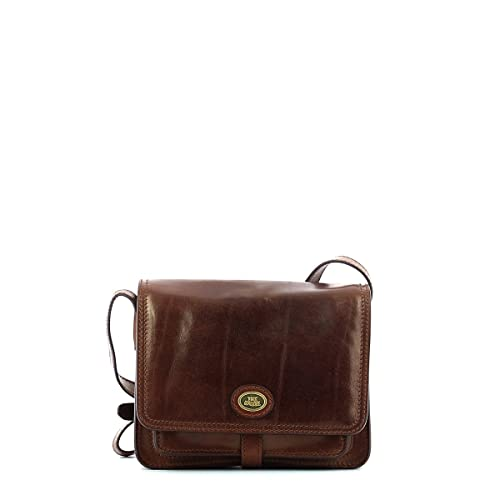 d65767115a1 The Bridge Messenger Bag 04404201-14 Brown: Amazon.co.uk: Luggage