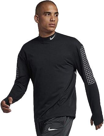 Permiso Abolladura Monje  Nike Dri-FIT Therma Sphere Element Men's Running Crew Black Size XL  BQ8187-010 at Amazon Men's Clothing store