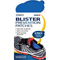 Engo Everyone can use This Product ENGO Oval Blister Patches (6 Patches) | Fits in All Types of Footwear six-commingle…