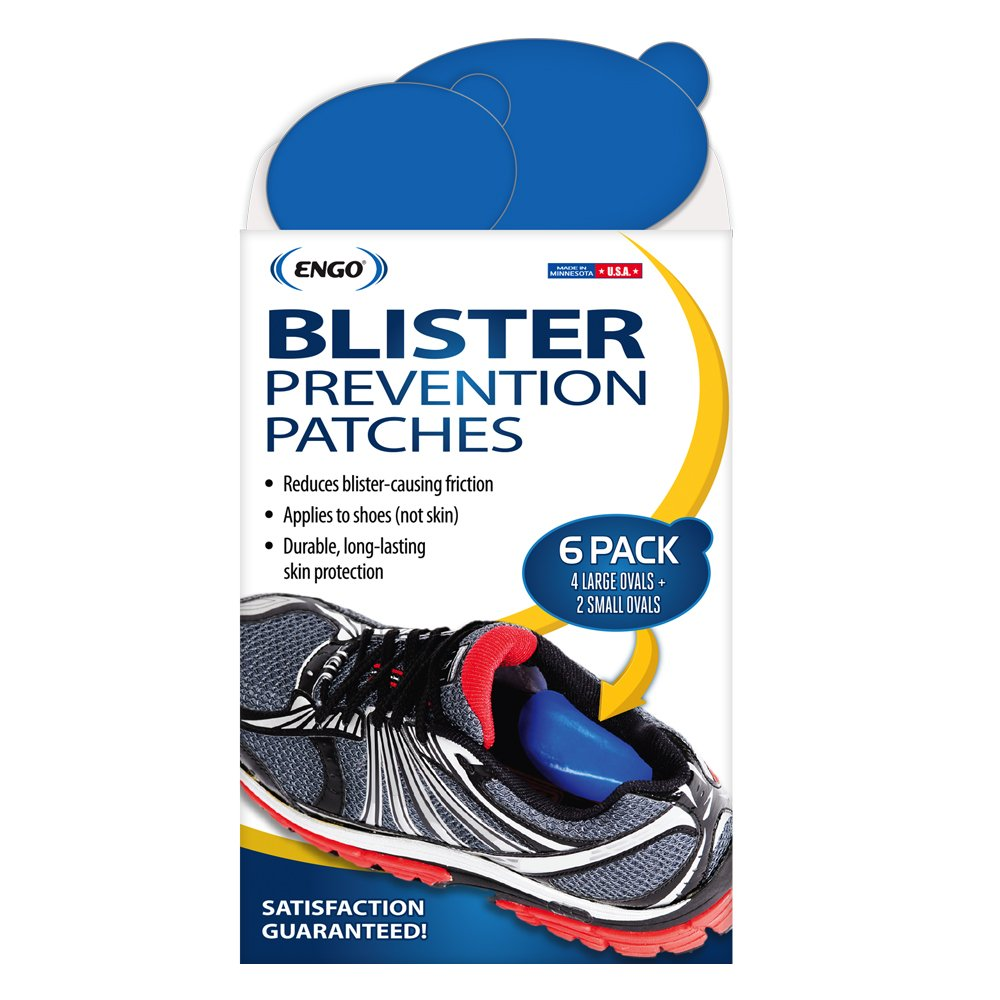 Oval Blister Prevention Patches (6 Patches) | Fits in All Types of Footwear