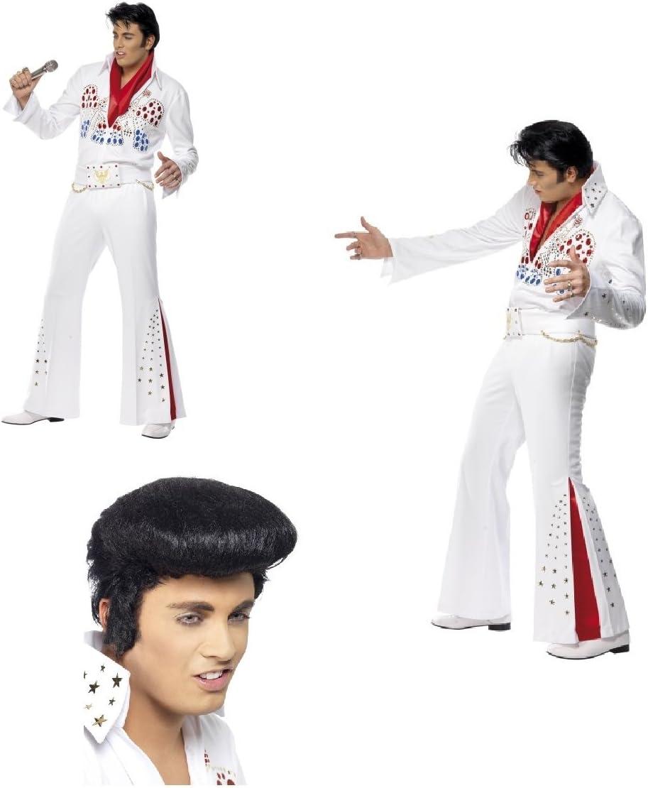 Fancy Dress Four Less Elvis Presley American Eagle - Disfraz para ...