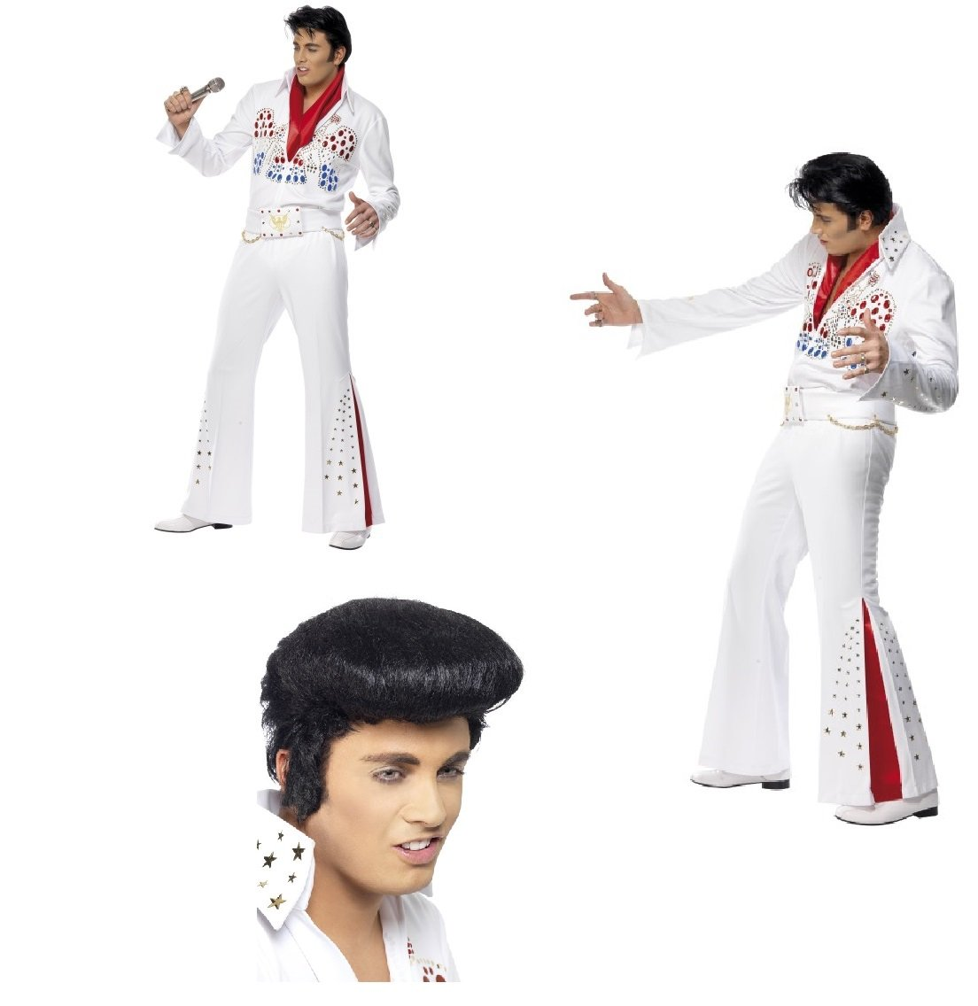Fancy Dress Four Less Elvis Presley American Eagle - Disfraz para ...