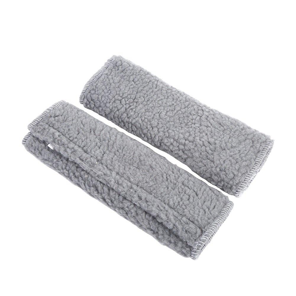 1 Pair Seat Belt Shoulder Pads Case Harness Fleece Cover Strap Soft Shoulder Pads ( Color : Black ) VGEBY