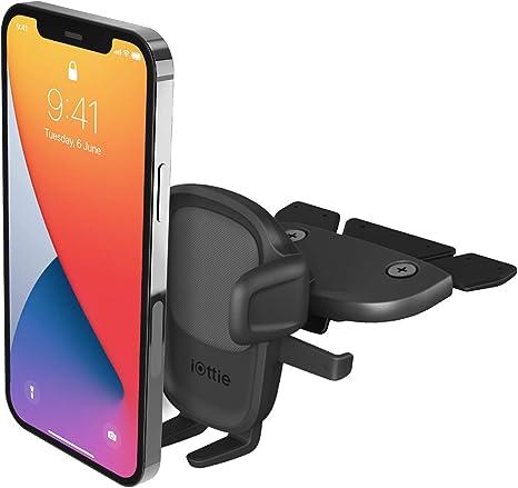Iottie Easy One Touch 5 Cd Slot Kfz Halterung Für Iphone Samsung Moto Huawei Nokia Lg Smartphones Elektronik