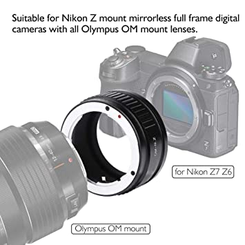 Adaptador de cámara Adaptador de Lente para Olympus OM Lens a ...