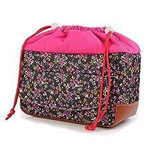 SODIAL(R) Women Waterproof Shockproof Partition Padded Camera Bag DSLR TLR Insert Protection Case For DSLR Shot Or Flash Light Canon5D,7D,50D,60D,Nikon D60,D90