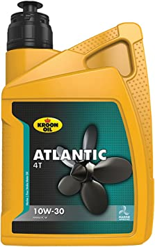 Kroon Oil 1838174 33435 Motoröl Atlantic 4t 10w 30 1 Liter Brown Auto